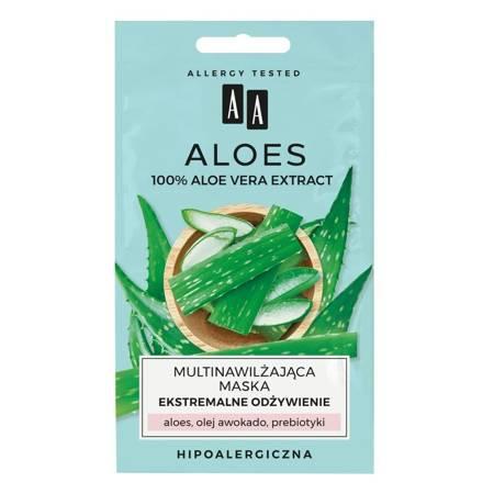 AA ALOES Aloe Vera Maska Ekstremalne odżywienie 2x4ml