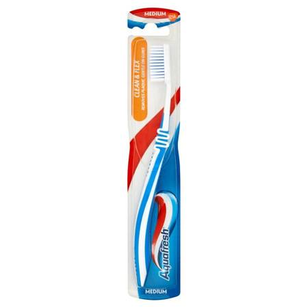 Aquafresh Clean&Flex Szczoteczka do zębów Medium