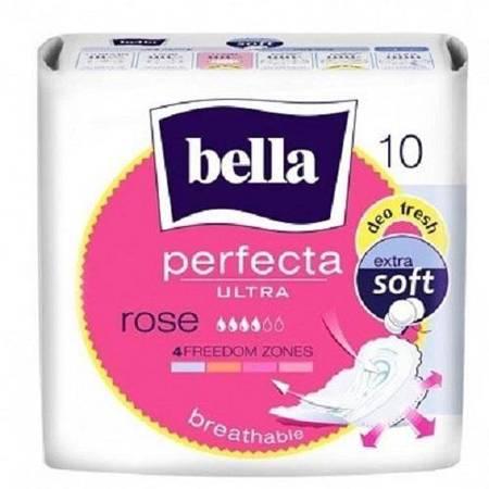 Bella Perfecta Ultra Rose Podpaski higieniczne 10szt.