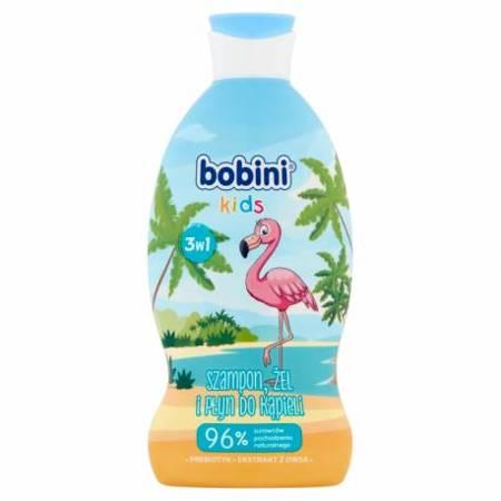 Bobini Kids Szampon żel i płyn do kąpieli 3w1 flaming 330ml