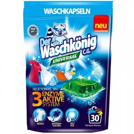 Der Waschkonig kapsułki do prania uniwersalne 30 szt